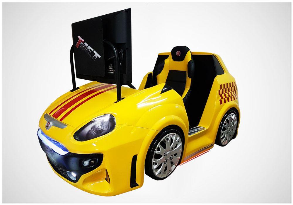 Fiat Punto – Brinquedos para Parques | Nogueira Entretenimento