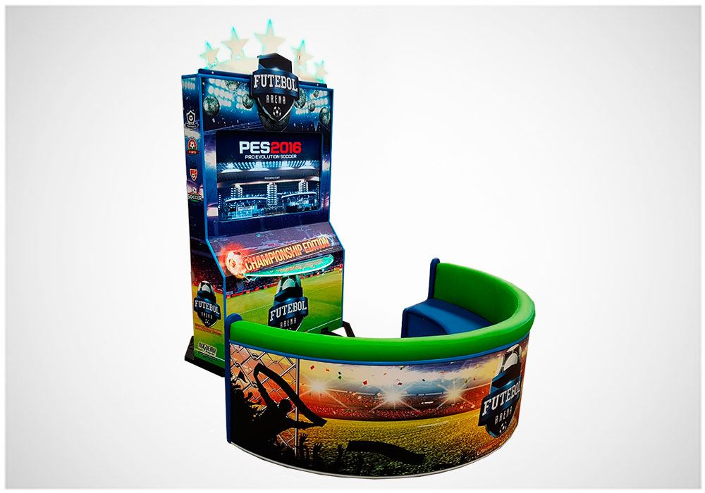 Futebol Arena Championship Edition – Brinquedos para Parques