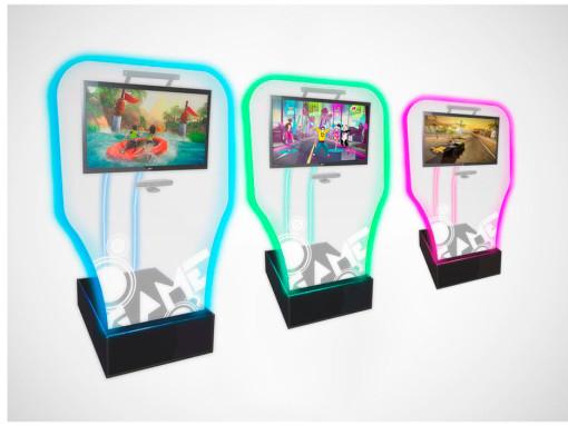 Kinect – Brinquedos para Parques | Nogueira Entretenimento