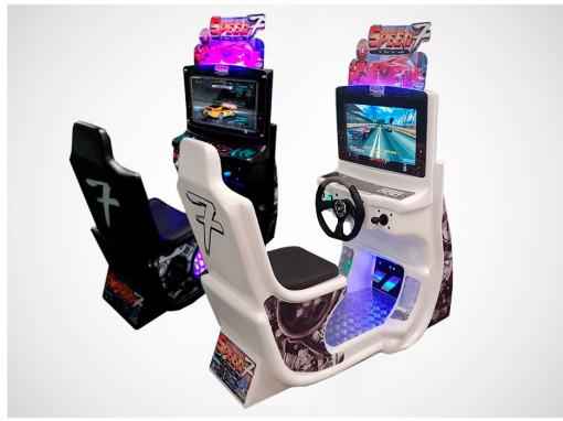 Simulador de Corrida Speed 7 – Brinquedos para Parques Nogueira