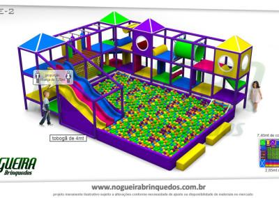 Brinquedão Kid Play Para Buffet Infantil Extra Grande (5)