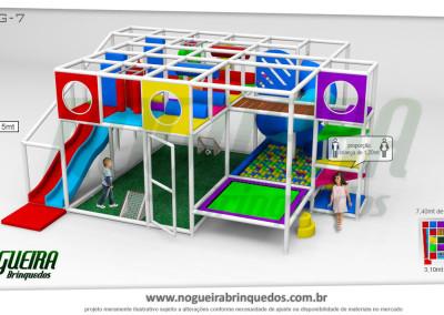 Brinquedão Kid Play Para Buffet Infantil Grande (1)