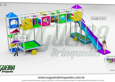 Brinquedão Kid Play Para Buffet Infantil Grande (13)