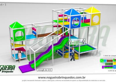 Brinquedão Kid Play Para Buffet Infantil Médio (1)