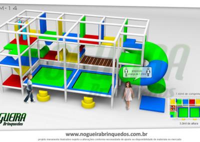 Brinquedão Kid Play Para Buffet Infantil Médio (15)