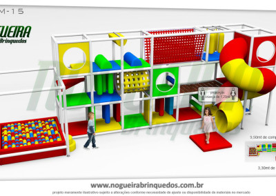 Brinquedão Kid Play Para Buffet Infantil Médio (16)