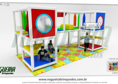 Brinquedão Kid Play Para Buffet Infantil Pequeno (11)