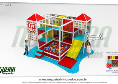 Brinquedão Kid Play Para Buffet Infantil Pequeno (16)