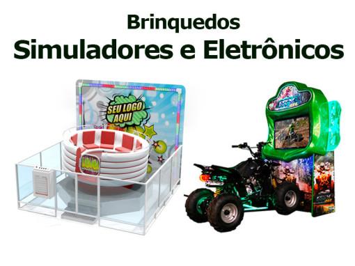 Simuladores e Eletrônicos | Nogueira Entretenimento