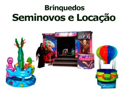 Semi Novos e Locação | Fabrica de Brinquedos para Parques