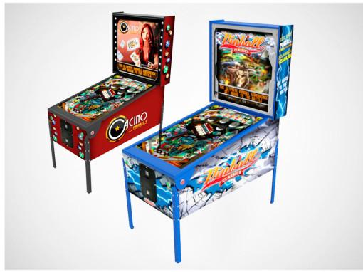 Pinball Virtual – Brinquedos para Parques | Nogueira Entretenimento