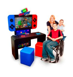 Multijogos Acessibilidade | Fliperama com 500 jogos