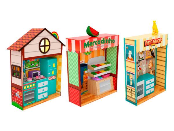 Quiosques Cenográficos Nogueira Brinquedos