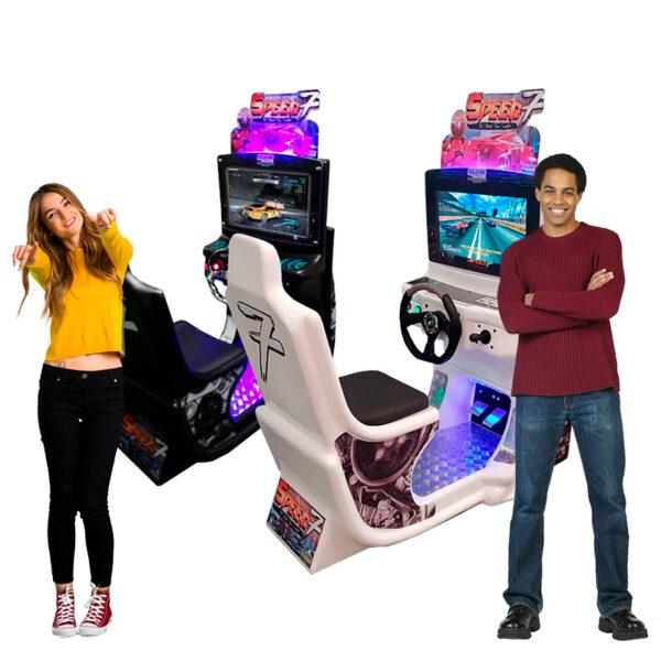Speed 7 Nogueira Brinquedos Simulador de Corridas