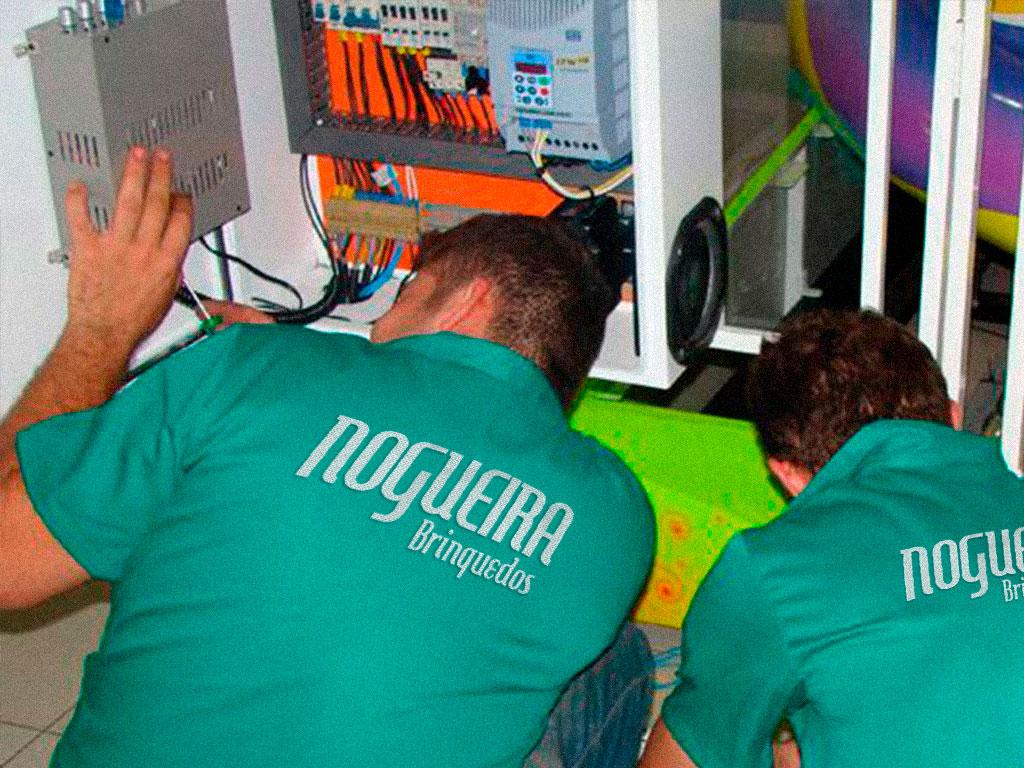 Funcionários Nogueira Brinquedos