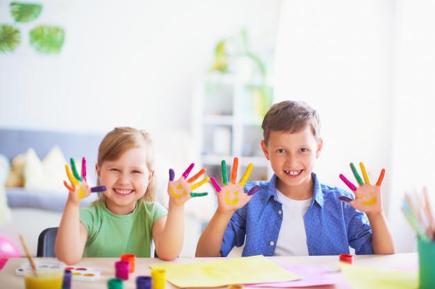 As Cores Exercem Grande Influência No Aprendizado Infantil