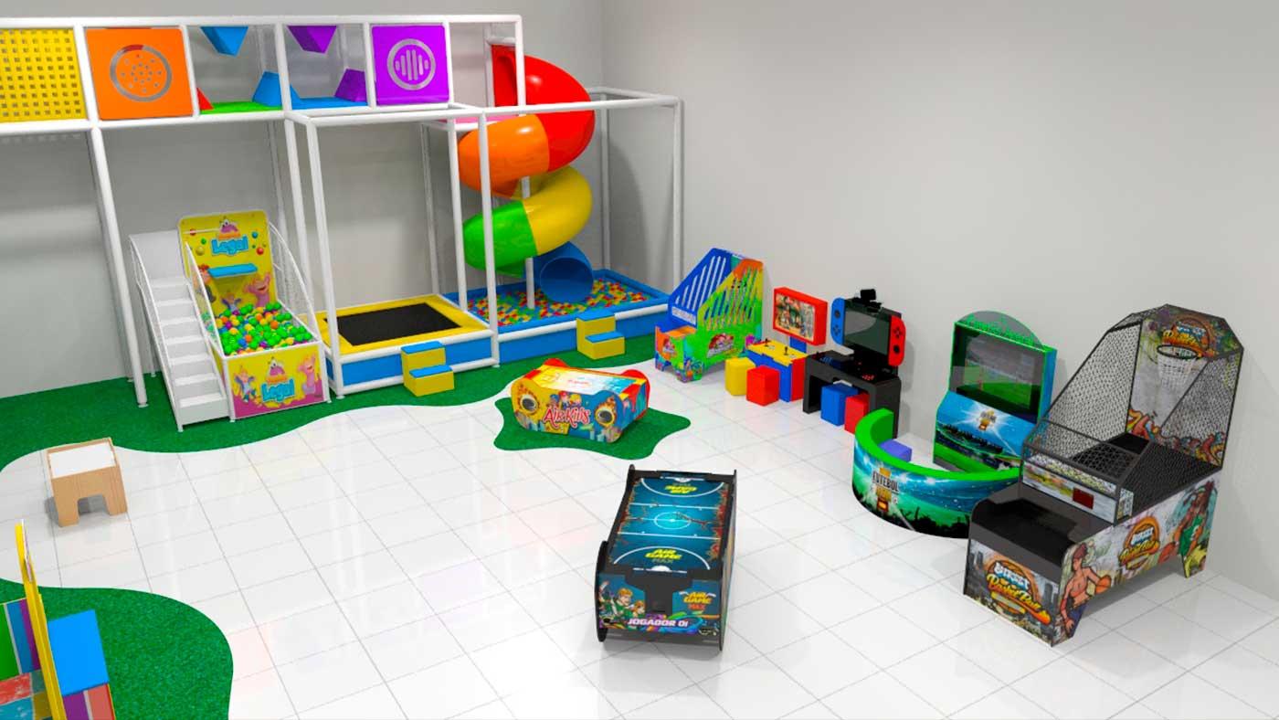 Projeto de Brinquedão Kid Play e Brinquedos Eletrônicos da Nogueira Brinquedos