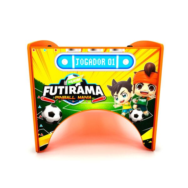 Pinball Mania - Futirama e Spacerama Nogueira Brinquedos